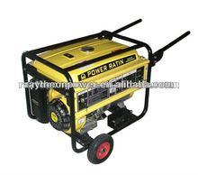 12v DC 100% copper wire Honda type portable gasoline generator 5kva
