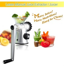 2012 Manual Silent Wheatgrass Juicers and Vegetable Blenders