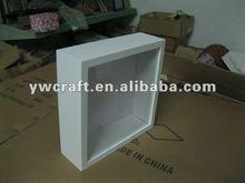 White color wood box frame (2012 New Design)