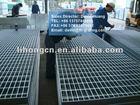 galvanized steel grid. steel lattice. steel grilles for oil fields
