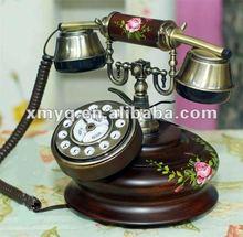 Handmade Telephone Antique Reproduction Home Decor