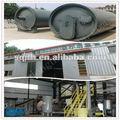Wj-8 de residuos de goma equipo de procesamiento de con 8 - 10 t / d capacidad
