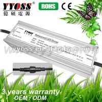 EMC PFC IP67 12V 48v constant voltage waterproof 100w led driver