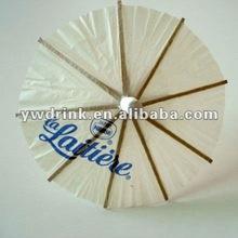 Printing LOGO Umbrella Cocktail Toothpick