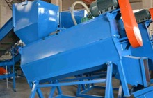 plastic recycling machine for PET flakes