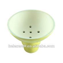 2014 Hookah Accessories Hookah yellow Bowl Ceramic Part