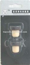 Household blister packed wine bottle stopper TBG4-170-78-32-logo-black