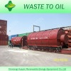 2012 newest generation best quality safe 100% no pollution tyre pyrolysis plant