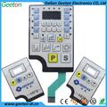 personalizado cúpula de poli panel de control teclado de membrana