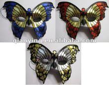 Italian Mariposa Masquerade plastic Party mask cheap