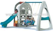 Popular kids garden playground swing and slide