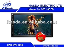 car dvd 2 din for UNIVERSAL SIZE