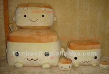 100% polyester soft baby shape cushion