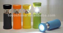 Multifunctional1 watt LED camping lantern lights with foldable hanger