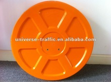 Plastic convex and concave mirrors for road safety