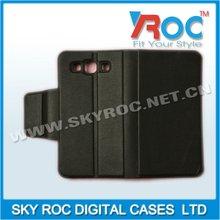 2013 Popular Cell phone leather bag for Sam s3 i9300