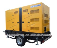 trailer type and digital soundproof gensets
