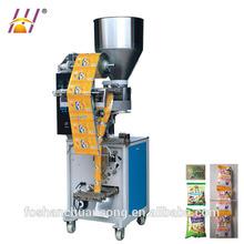 Pequeno máquina de embalagem Vertical automática para lanches, Grânulo máquina de embalagem de alimentos