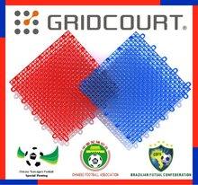 Gridcourt outdoor basketball interlocking sports flooring