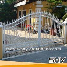 New Design Iron Gate,Luxury Wrought Iron Gate,Cheap Wrought Iron Gates for Garden