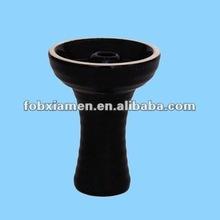 ceramic black shisha hookah bowl