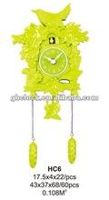 2013 Green Decoration Small Wall Clock(HC6)