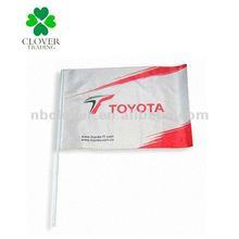 2012 outdoor advertising car window flags / car flag / car banner