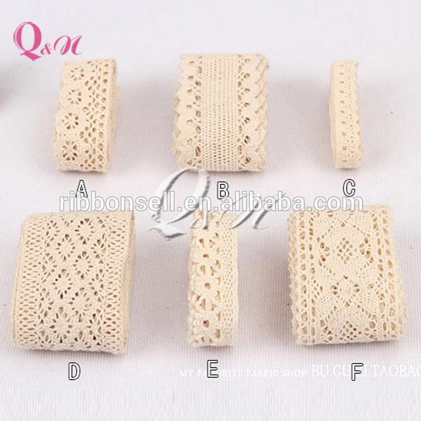 100% polish white cotton lace wholesale