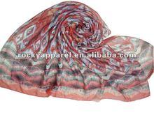 latest scarf designs 2012