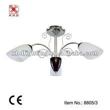 popular cheap chandelier opal white glass-8805-3
