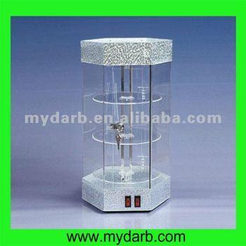 Acrylic Rotating Watch Display