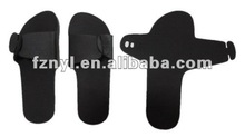 cheap one-off foldable hotel spa slippers