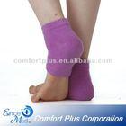 Moisturizing heel socks with jojoba oil and essential oil