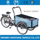 2014 hot sale three wheel Cargo Bike/bakiet model UB9027 cargobike