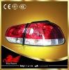 09'-12' VW golf 6 Led tail light Error free cherry-red Black housing SONAR LED rear light car light