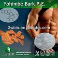 A ioimbina hcl 98% natural sexual potenciador de desempenho