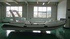 Fiberglass reinforced plastic yacht inflatable fishing boat