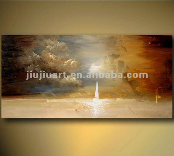 Abstraite toile peinture l 39 huile peinture et calligraphie id du produ - Peinture a l huile abstraite ...