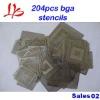 Applicable & Hotest 204pcs BGA stencils, bga reballing kit, bga accessories