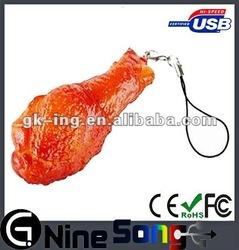 Meat shape plastic usb drive