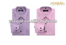 Fashion Striped Dress Shirts for Men, Spread Collar or Button Down Collar