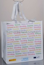 woven promotional cheap shopping bag