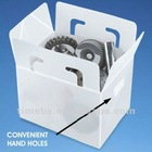 Collapsible pp corrugated board storage box