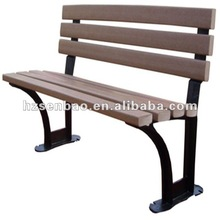 All weather used wpc outdoor chair
