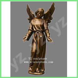 Bronze religion winged angel statue BFSN-C012