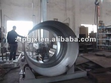 automatic production buffing machine for tank