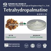 natural 98% tetrahydropalmatine extract