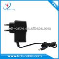2012 caliente!! De alta eficiencia de adaptador de ca salidas 9v 1a para el teléfono móvil con el ce y aprobado rhos