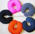 En forma de u de colores del cuello almohada, podría personalizar con el logotipo de impresión