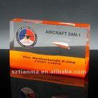 Transparent Resin Aircrafts